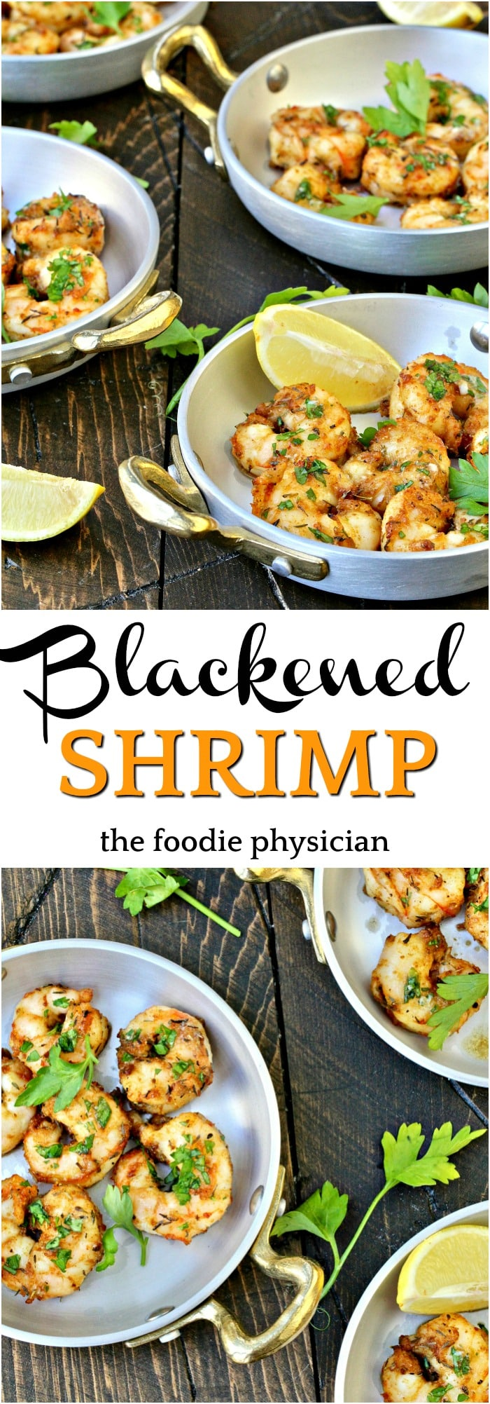 These Blackened Shrimp from the book Fertility Foods are nutritious, packed with flavor, and easy to make- they're the perfect weeknight dinner solution!