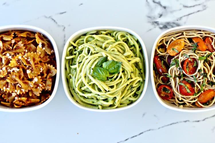 no-cook pasta sauces