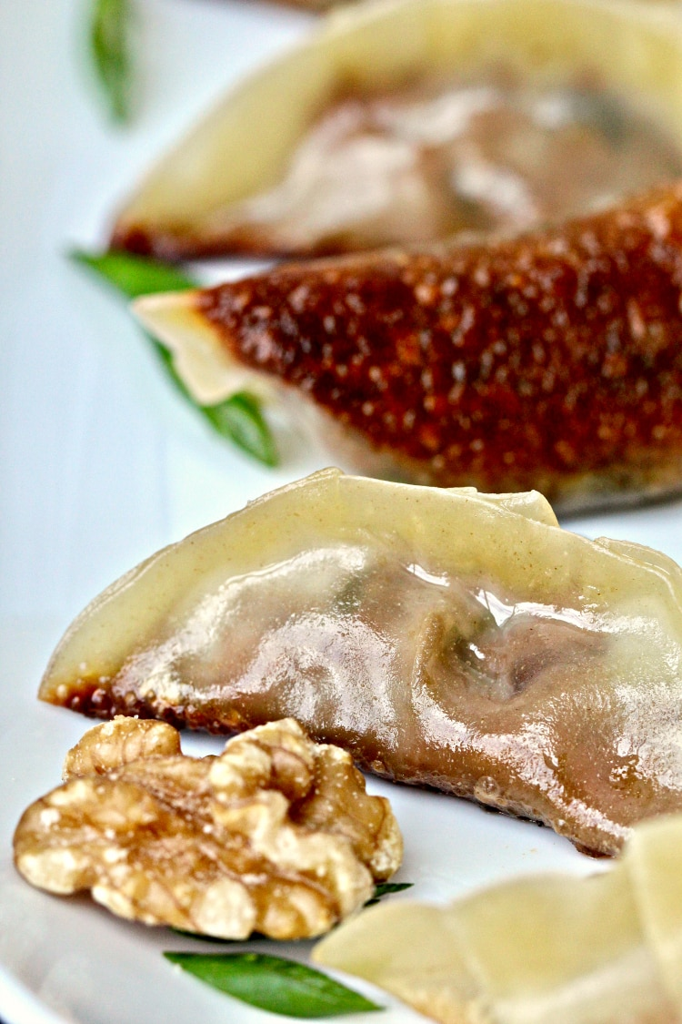 Vegetable Walnut Potstickers