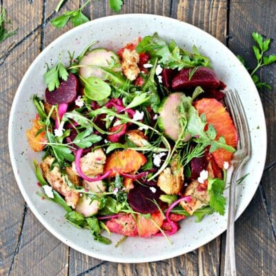 Beet Panzanella and a Giveaway!