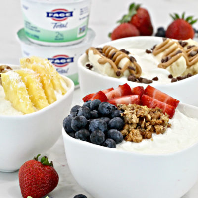 Greek Yogurt Sundae Bar