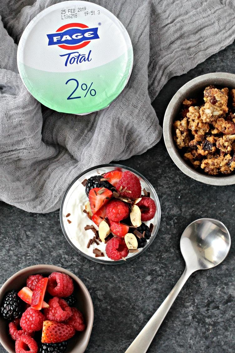 Greek Yogurt Berry Parfaits