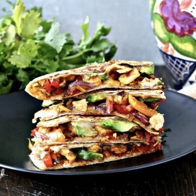 The Ultimate Chicken Quesadillas