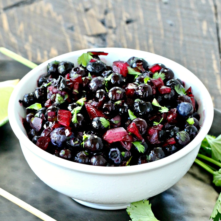 Wild Blueberry Salsa