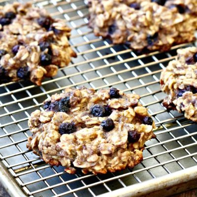 Wild Blueberry Breakfast Cookies