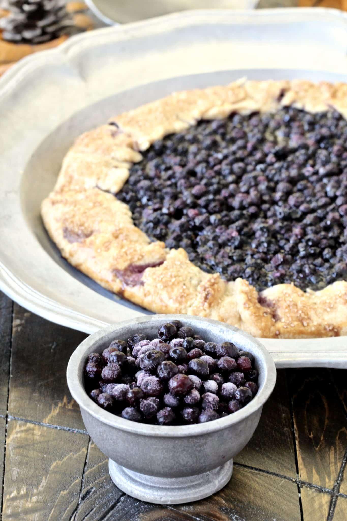 Wild Blueberry Galette