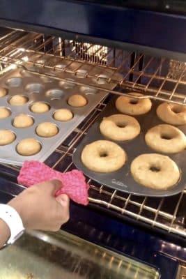 Baked Apple Cider Donuts Baking